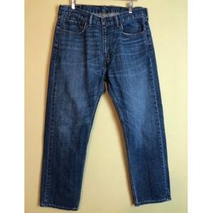 LEVIS 505 straight fit jeans 36x30